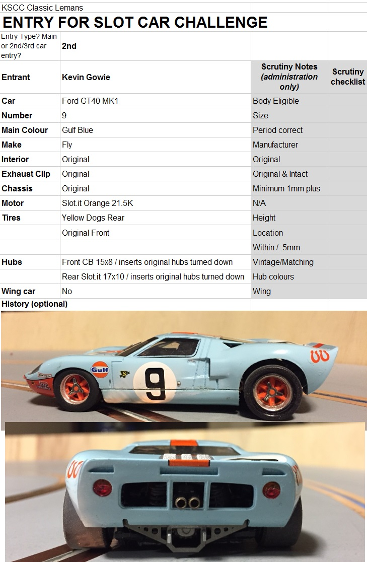 Spare FordGT40